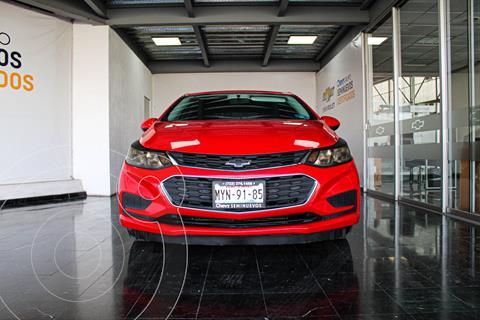 Chevrolet Cruze LS Aut usado (2017) color Rojo precio $208,000