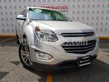 Foto venta Auto usado Chevrolet Equinox LTZ (2016) color Plata precio $295,000