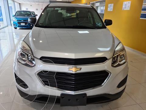 Chevrolet Equinox LS usado (2017) color Plata Dorado precio $275,000