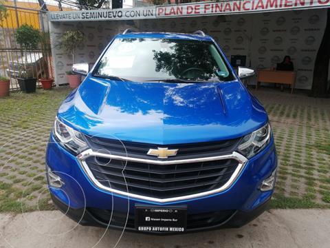 Chevrolet Equinox Premier usado (2019) color Azul Acero precio $399,000