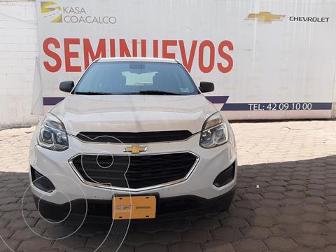 Chevrolet Equinox LS usado (2017) color Blanco precio $240,000