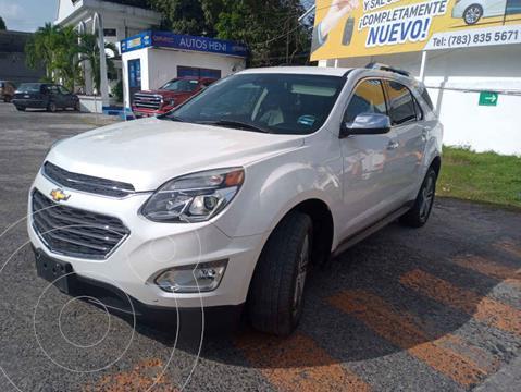 Chevrolet Equinox Premier usado (2017) color Blanco precio $298,000