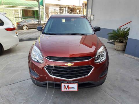 Chevrolet Equinox LS usado (2016) color Rojo precio $225,000