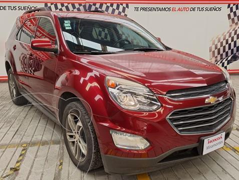 Chevrolet Equinox LT usado (2017) color Rojo Cerezo financiado en mensualidades(enganche $155,000 mensualidades desde $3,795)
