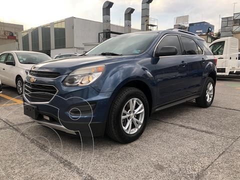 Chevrolet Equinox LS usado (2017) color Azul Acero financiado en mensualidades(enganche $70,000 mensualidades desde $7,500)