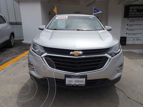 Chevrolet Equinox LT usado (2018) color Plata precio $395,000