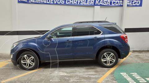 Chevrolet Equinox LT usado (2017) color Azul precio $295,000