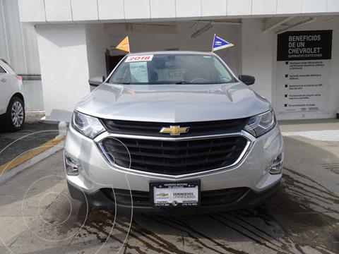 Chevrolet Equinox LS usado (2018) color Plata precio $365,000