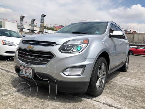 Chevrolet Equinox LT usado (2017) color Plata financiado en mensualidades(enganche $58,000 mensualidades desde $6,994)