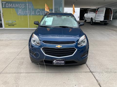 Chevrolet Equinox LS usado (2017) color Azul precio $280,000