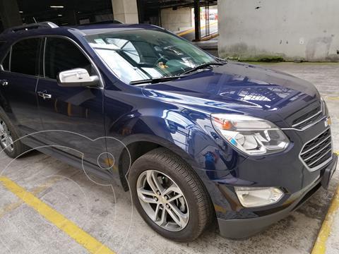 Chevrolet Equinox Premier usado (2017) color Azul precio $292,000