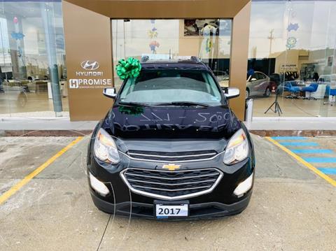 Chevrolet Equinox Premier usado (2017) color Negro precio $325,000