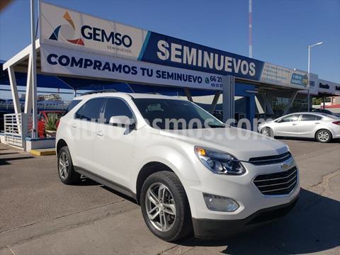 Chevrolet Equinox 5P LT L4/2.4 AUT usado (2017) color Blanco precio $250,000