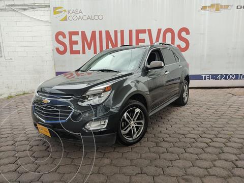 Chevrolet Equinox Premier Plus usado (2017) color Gris precio $320,000