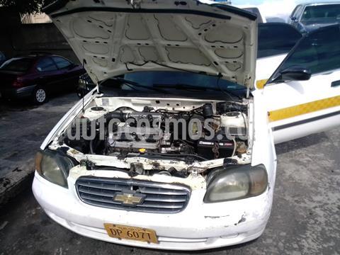 Chevrolet Esteem Auto. usado (2001) color Blanco precio BoF2.001.200