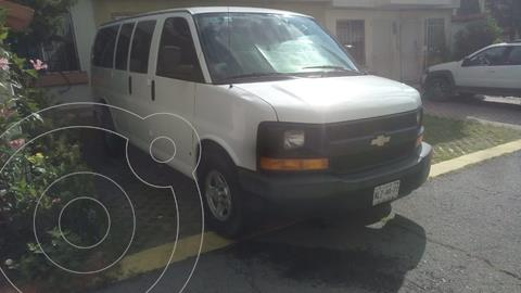 Chevrolet Express Passenger Van Paq L 8 Pas (V8) usado (2007) color Blanco precio $130,000