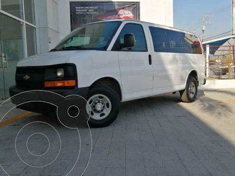 Chevrolet Express Cargo Van LS 4.3L usado (2017) color Blanco precio $375,000