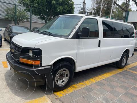 foto Chevrolet Express VAN PASSENGER LS D 3P V8 6.0L TA usado (2016) color Blanco precio $329,000