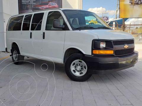 Chevrolet Express LS D 12 pas usado (2016) color Blanco precio $375,000