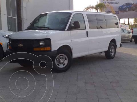 Chevrolet Express Cargo Van LS 4.3L usado (2017) color Blanco precio $350,000
