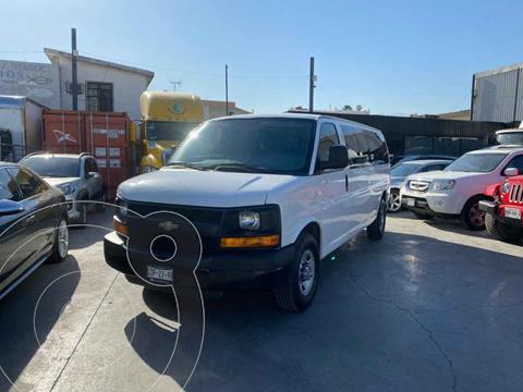 Chevrolet Express Passenger Van Paq C 15 Pas (V6) usado (2015) color Blanco precio $259,800