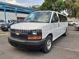 Chevrolet Express Passenger Van LS 15 pas 5.3L usado (2016) color Blanco precio $358,000