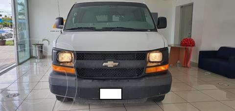 Chevrolet Express Passenger Van Paq D 8 Pas (V8) usado (2015) color Blanco precio $280,000