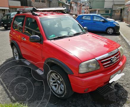 Chevrolet Grand Vitara 3P 1.6L 4x4  usado (2008) color Rojo precio u$s11.000