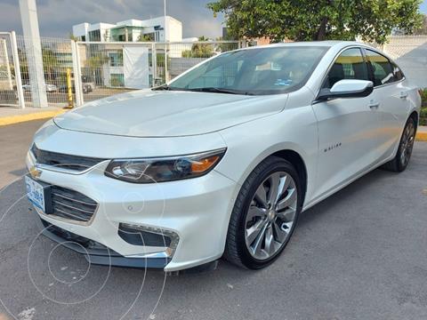 Chevrolet Malibu Premier 2.0 Turbo usado (2018) color Blanco financiado en mensualidades(enganche $91,250 mensualidades desde $9,867)
