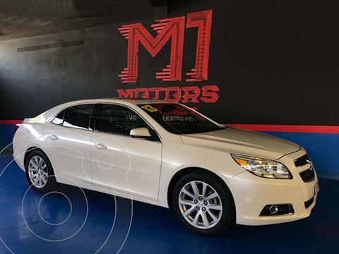 Chevrolet Malibu LT usado (2013) color Blanco Diamante financiado en mensualidades(enganche $105,000 mensualidades desde $6,705)