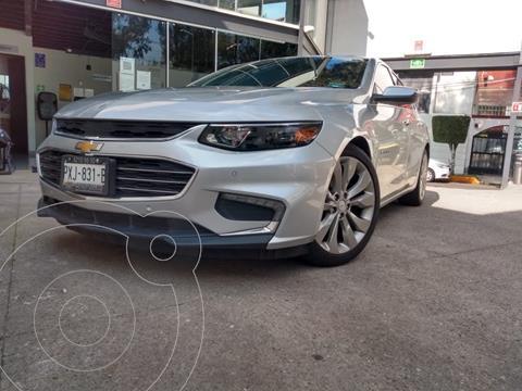 Chevrolet Malibu Premier 2.0 Turbo usado (2017) color Plata Brillante financiado en mensualidades(enganche $67,000 mensualidades desde $7,160)