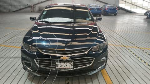 Chevrolet Malibu LT 1.5 Turbo Piel usado (2017) color Azul Zafiro precio $300,000