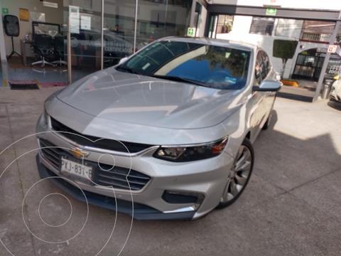 Chevrolet Malibu Premier 2.0 Turbo usado (2017) color Plata Brillante financiado en mensualidades(enganche $83,750)