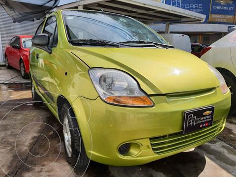 Chevrolet Matiz Paq B usado (2013) color Verde precio $79,000