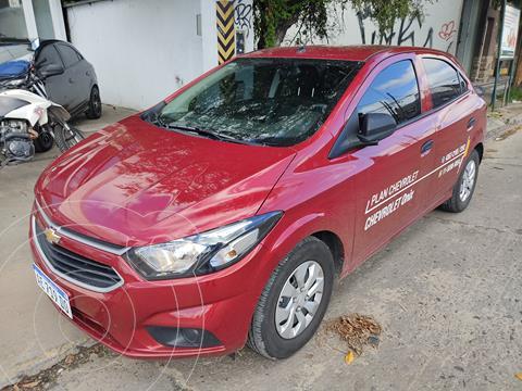 Chevrolet Onix Joy Base usado (2021) color Rojo precio $1.550.000