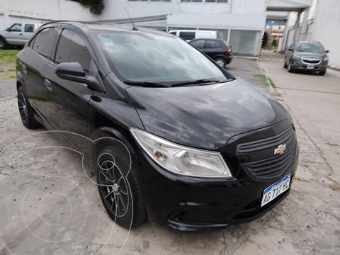 Chevrolet Onix Joy LS + usado (2017) color Negro precio $979.000