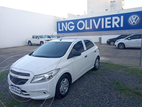 Chevrolet Onix Joy LS + usado (2017) color Blanco Summit precio $1.050.000