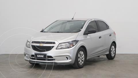 Chevrolet Onix Joy LS + usado (2019) color Plata precio $1.430.000