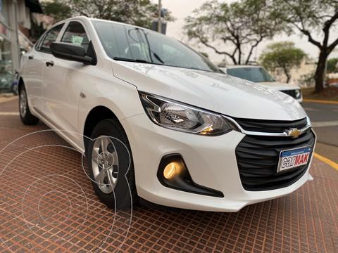Chevrolet Onix Plus 1.2 usado (2020) color Blanco financiado en cuotas(anticipo $1.190.000)