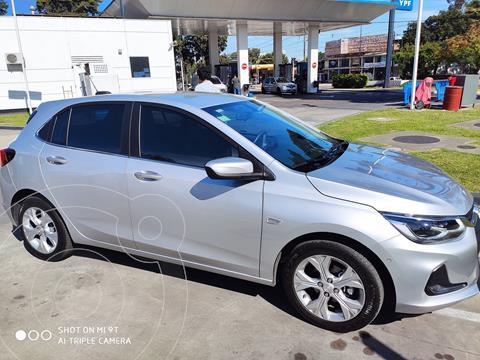 Chevrolet Onix Plus 1.0T Premier Aut usado (2021) color Gris precio $3.100.000