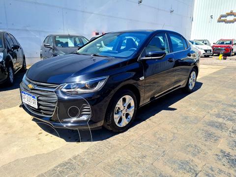 Chevrolet Onix Plus 1.0T Premier II usado (2021) color Negro financiado en cuotas(anticipo $2.080.800)