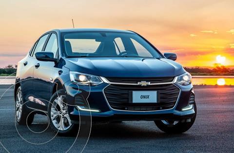 Chevrolet Onix Plus 1.2 LT Pack Tech nuevo color Azul financiado en cuotas(anticipo $80.700 cuotas desde $21.498)