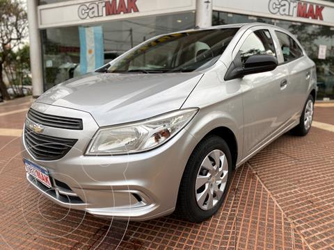 Chevrolet Onix LT usado (2014) color Gris financiado en cuotas(anticipo $600.000)