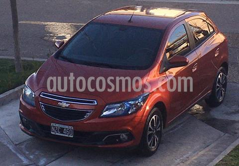 Chevrolet Onix LTZ usado (2014) color Naranja Flame precio $900.000