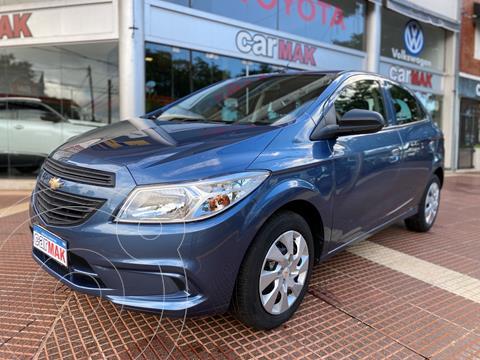 Chevrolet Onix LT usado (2015) color Azul financiado en cuotas(anticipo $650.000)