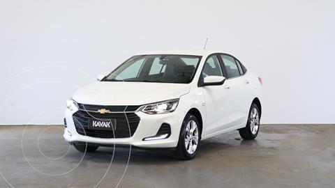 Chevrolet Onix 1.0T Premier I usado (2020) color Blanco Summit precio $2.620.000