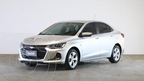 Chevrolet Onix 1.0T Premier I usado (2020) color Plata Switchblade precio $2.280.000