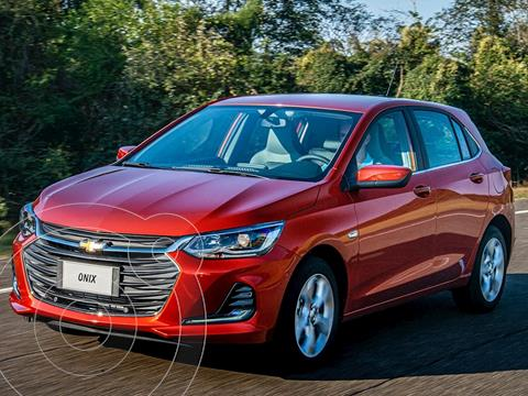 Chevrolet Onix 1.0T Premier II nuevo color Rojo financiado en cuotas(anticipo $161.300 cuotas desde $21.498)