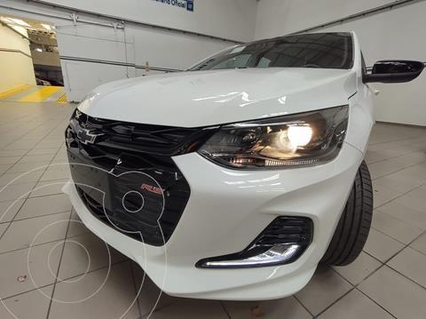 Chevrolet Onix 1.0T RS nuevo color Blanco Summit financiado en cuotas(anticipo $1.108.800)