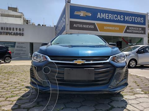 Chevrolet Onix LS usado (2021) color Azul precio $283,000